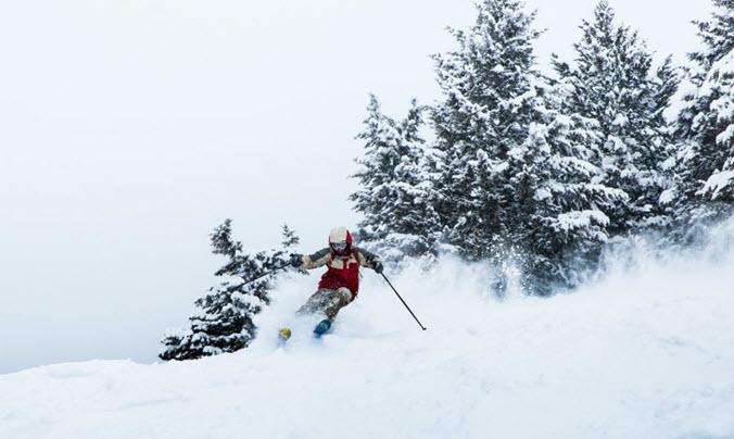 Jackson Hole Skier Terrain
