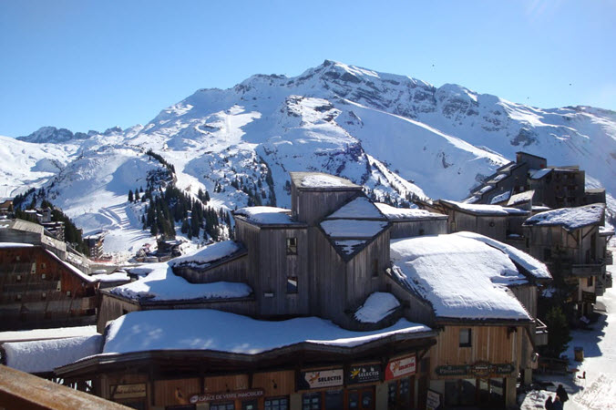 Village of Avoriaz France