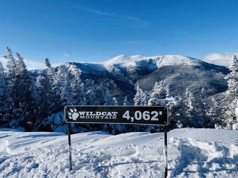 Ski Wildcat Mountain NH Peak
