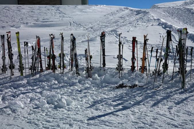 Utah ski lunch