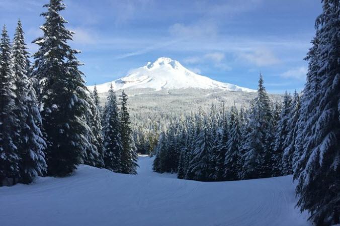 Mt Hood Slipt Board