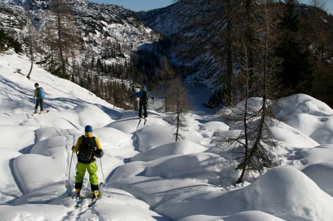 Mt Hood Split Boarding Ski