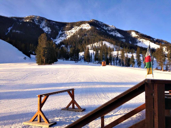 Sleeping Giant Ski Resort not crowded