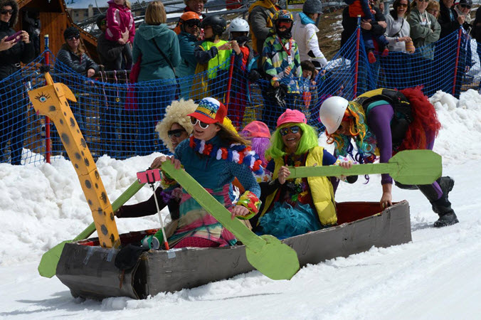 Steamboat Spring Ski Event 2020 Cardboard Calssic