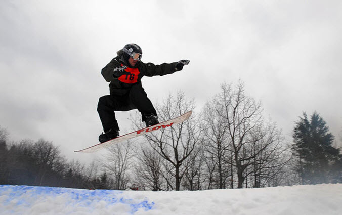 Blue Mountain Poconos Snowboarding