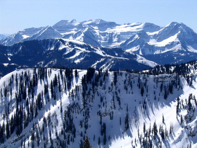 Brighton Ski Area Utah