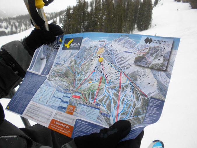 challenger trail solitude ut ski