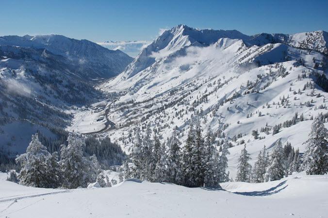 Little Cottonwood Canyon UT Ski