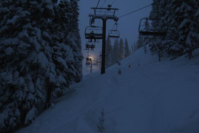 Bright resort UT night skiing