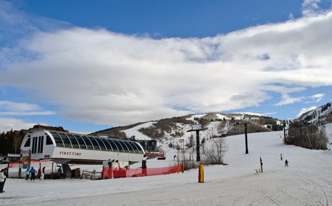 Three kings ski terrain park city UT