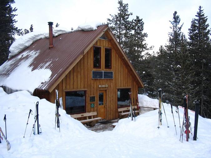 Aspen ski hut