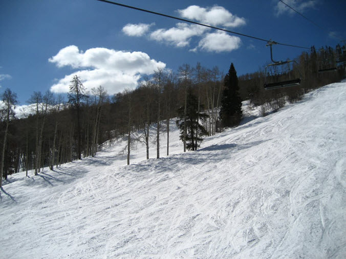 Aspen ski slope