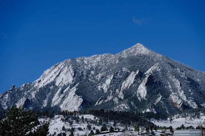 Bear Peak Boulder , CO