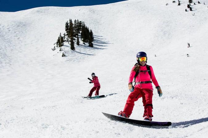 aspen highlands snowboard