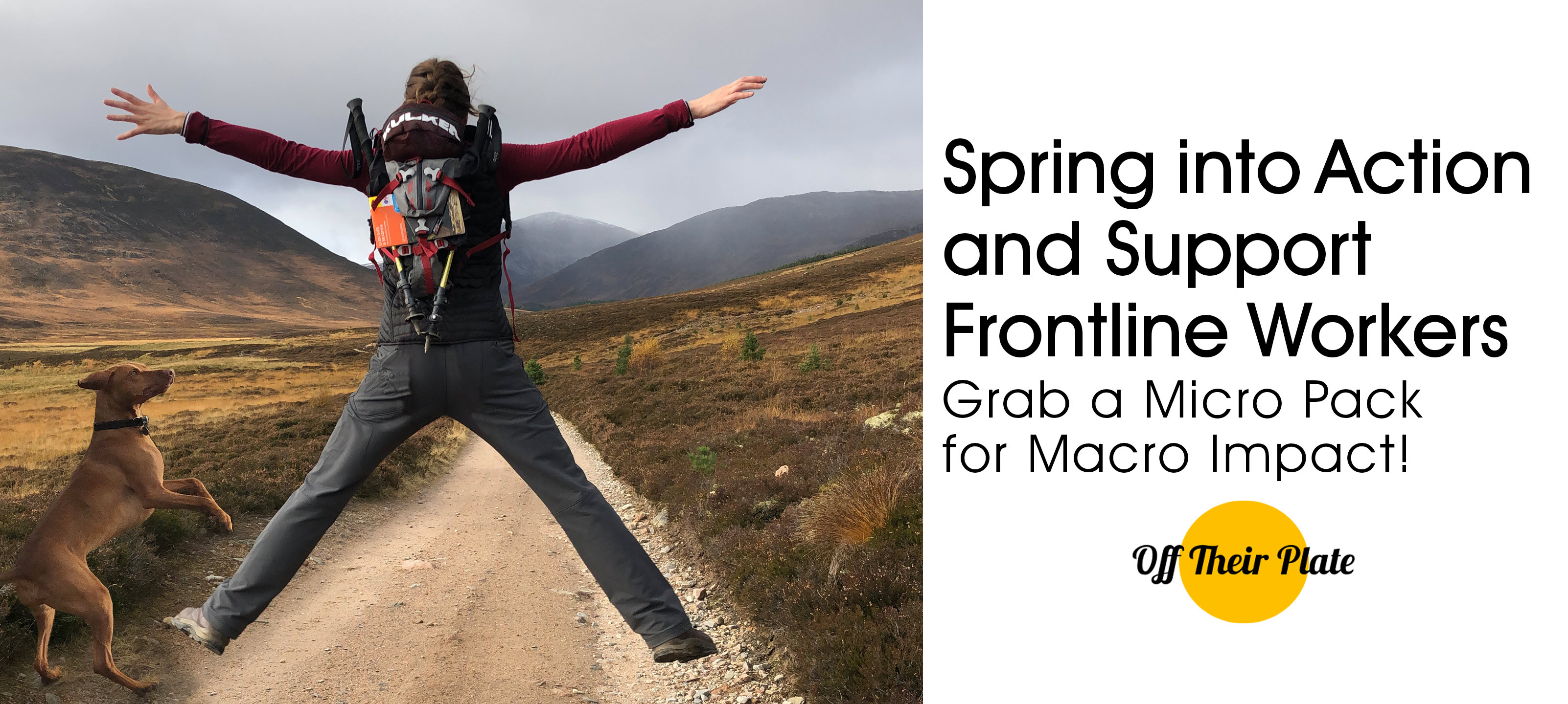 Spring Into Action and Support Frontline Workers - Grab a Micro Pack for Macro Impact!