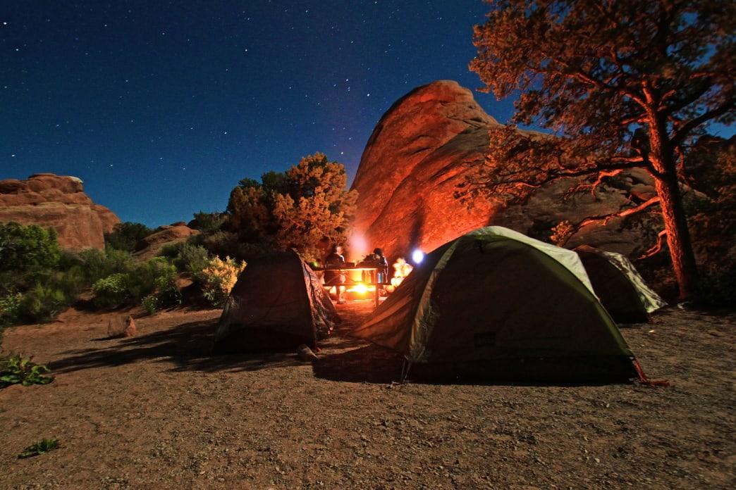 Campfire Campsite Cooking Colorado