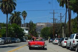 car in hollywood
