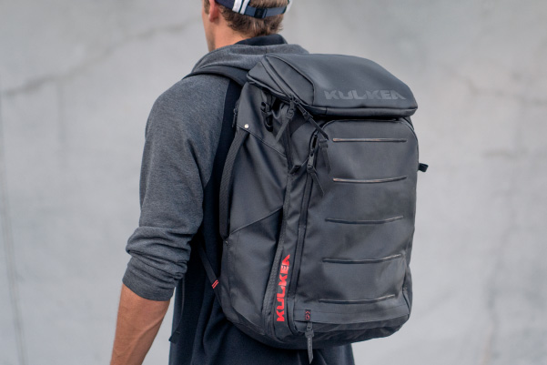 Limited Edition Nick Goepper Kayda Backpack Kulkea Side Back