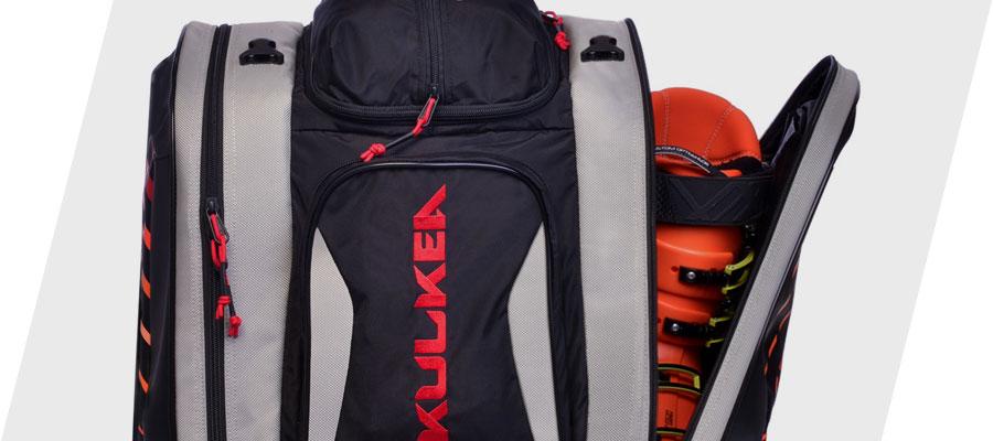 Kulkea Thermal Trekker Ski Boot Bag Heated Conduction Boot Pockets