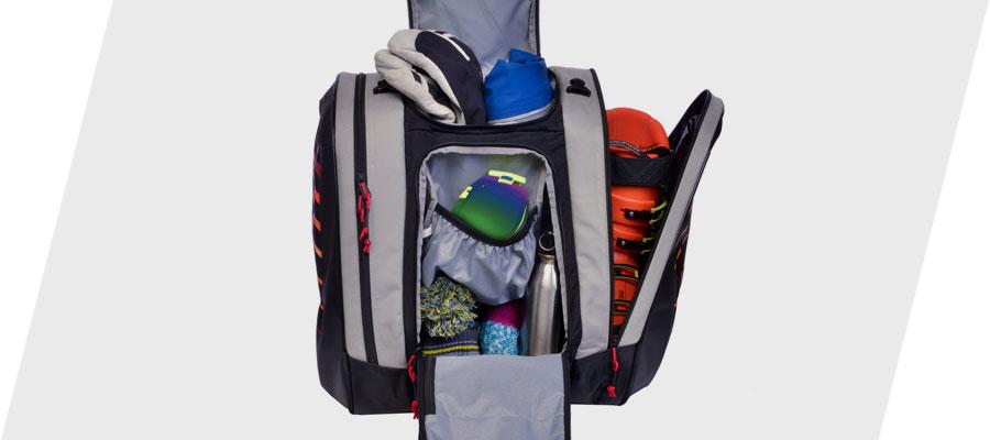 Kulkea Thermal Trekker Heated Ski Boot Bag Intuitive Packing System