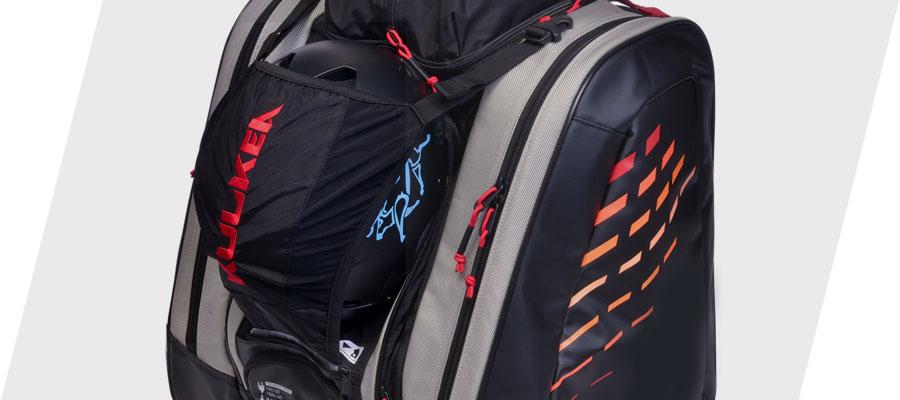 Kulkea Thermal Trekker Heated Ski Boot Bag Retractable Helmet Sling