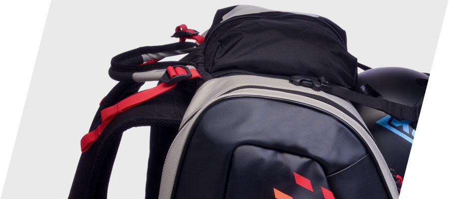 Kulkea Thermal Trekker Heated Ski Boot Bag Stow Away Straps