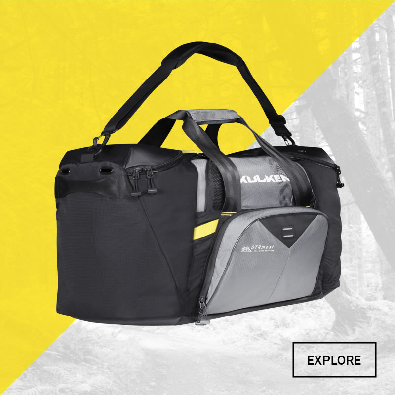 Explore The Bicycle Gear Bag from Kulkea OTRMost